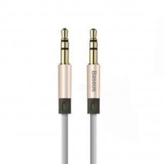 """Аудиокабель Baseus Fluency Series, с AUX на 3.5 мм, 2 метра, """"розовое золото"""", фото 1"""