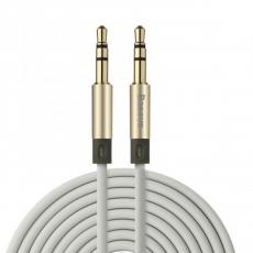 фото кабеля Baseus Fluency Series AUX, 2м, золотой