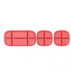 Держатель проводов Baseus Cross Peas Cable Clip, красный, ACTDJ-09
