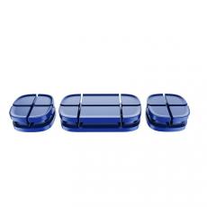 Держатель для проводов Baseus Cross Peas Cable Clip, синий, фото 2