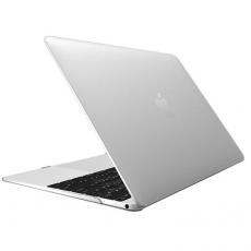 Чехол накладка пластиковая Novelty для Macbook 12, глянцевый прозрачный