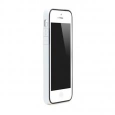 Чехол-бампер Colorant B1 для iPhone 5/5s/SE, полиуретан / поликарбонат, белый, фото 1