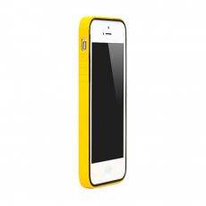 Чехол-бампер Colorant B1 для iPhone 5/5s/SE, полиуретан / поликарбонат, жёлтый, фото 1
