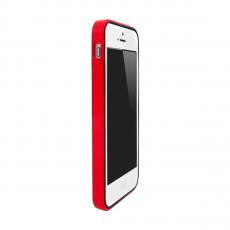 Чехол-бампер Colorant B1 для iPhone 5/5s/SE, полиуретан / поликарбонат, красный, фото 1