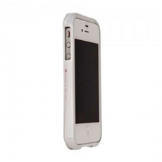 Бампер Deff Cleave Baking Paint Metal для iPhone 5, 5S и SE, белый, фото 1