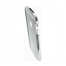 Бампер Deff Cleave Brushed Metal Style для iPhone 5, 5S и SE, серебристый, фото 4
