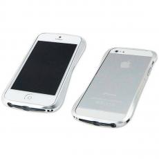 Бампер Deff Cleave Brushed Metal Style для iPhone 5, 5S и SE, серебристый, фото 5