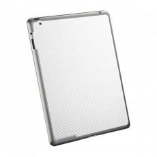 Защитная наклейка для iPad 2/iPad Air 2 SGP Skin Guard Set Series Carbon, белая, фото 2