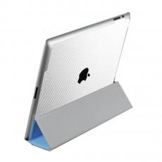 Защитная наклейка для iPad 2/iPad Air 2 SGP Skin Guard Set Series Carbon, белая, фото 1