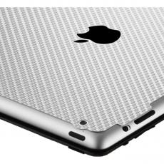 Защитная наклейка для iPad 2/Air 2 SGP Skin Guard Set Series Carbon, серая, фото 2