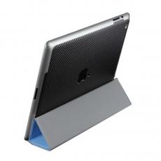 Защитная наклейка для iPad 2/Air 2 SGP Skin Guard Set Series Carbon, черная, фото 1