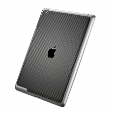 фото Защитная наклейка для iPad 2/Air 2 SGP Skin Guard Set Series Carbon, черная
