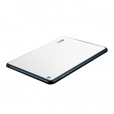 Защитная наклейка для iPad mini SGP Skin Guard Set Series Carbon, белая, фото 2