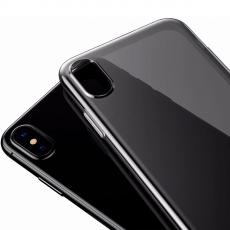 Чехол Baseus Simple Series для iPhone X, прозрачный черный, фото 3
