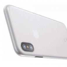 Чехол Baseus wing для iPhone X, прозрачный белый, фото 2