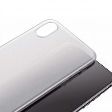 Чехол Baseus wing для iPhone X, прозрачный белый, фото 3