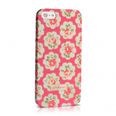 Чехол-накладка Cath Kidston hard case для iPhone 5/5s/SE, поликарбонат, белый / розовый, фото 1
