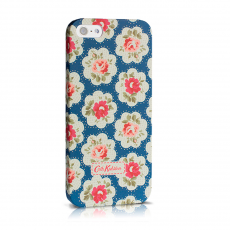 Чехол-накладка Cath Kidston hard case для iPhone 5/5s/SE, поликарбонат, синий / красный, фото 1