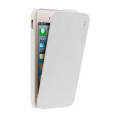 Чехол Jison Case Fashion Flip Case для iPhone 5, 5S и SE, белый, фото 1