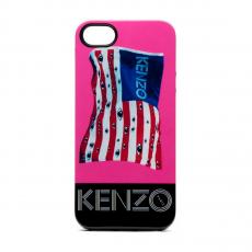 Фото чехла KENZO TPU для iPhone 5, 5S и SE, синего