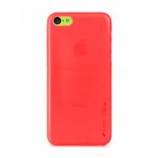 Чехол-накладка Melkco Air PP для iPhone 5/5s/SE, полиуретан, красный, фото 1
