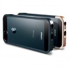 Чехол Spigen Linear Crystal Series для iPhone 5, 5S и SE, тёмно-зелёный металик, фото 3