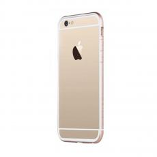 Бампер TOTU Evoque для iPhone 6/6S, белый/золотой, фото 1