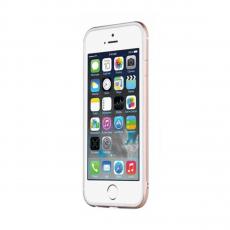 Бампер TOTU Evoque для iPhone 6/6S, белый/золотой, фото 2