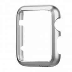 Клип-кейс SGP Spigen Thin Fit для Apple Watch (42mm), серебристый, фото 1