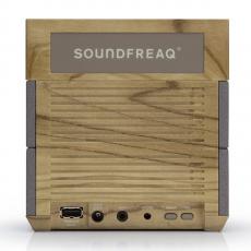 Акустическая система SoundFreaq SFQ-08WT Sound Rise с часами и FM-приемником, фото 1