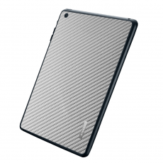 Защитная наклейка для iPad mini SGP Skin Guard Set Series Carbon, серая, фото 1
