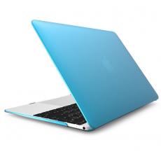 Чехол накладка пластиковая Novelty для Macbook 12, голубой