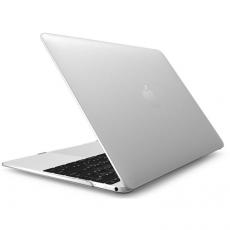 Чехол накладка пластиковая Novelty для Macbook 12, матовый прозрачный