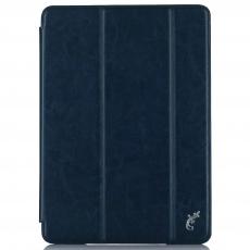 Чехол G-Case Slim Premium для iPad (2017), темно-синий, GG-800