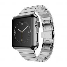 Браслет стальной блочный HOCO Link Apple Watch, серебристый 42mm, фото 1
