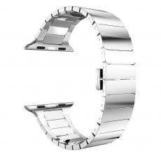 Браслет стальной блочный HOCO Link Apple Watch, серебристый 42mm, фото 2