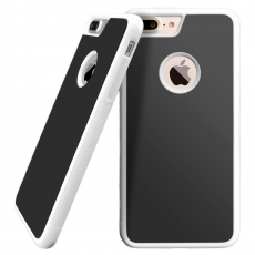 Чехол-накладка Sticks Magic для iPhone 7/8 Plus, полиуретан / поликарбонат, белый / чёрный, фото 1