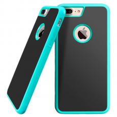 Чехол-накладка Sticks Magic для iPhone 7/8 Plus, полиуретан / поликарбонат, зелёный / чёрный, фото 1