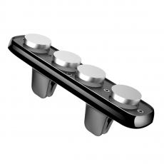 Держатель для авто Baseus Double Clip, магнитный, чёрный, фото 5