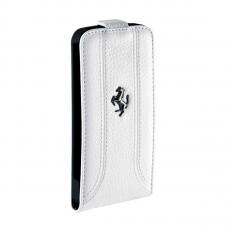 Фото чехла Ferrari Flip case Collection для iPhone 5, 5S и SE, белого