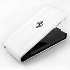 Чехол Ferrari FF-Collection для iPhone 5, 5S и SE, белый, фото 3