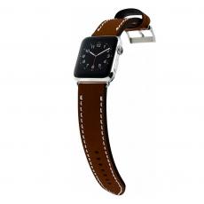 Ремешок кожаный Cozistyle для Apple Watch 42mm, темно-коричневый, CLB012, фото 4