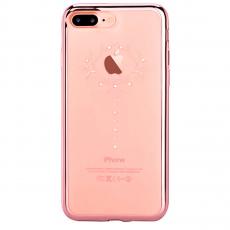 Чехол Devia Crystal Iris для iPhone 8 и 7 Plus, розовое золото, фото 1