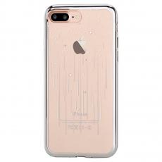 Чехол силиконовый Devia Crystal Meteor для iPhone 8 и 7 Plus, серебряный, фото 1