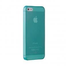 Чехол Ozaki iCoat 0.3 JELLY для iPhone 5, 5S и SE, голубой, фото 1