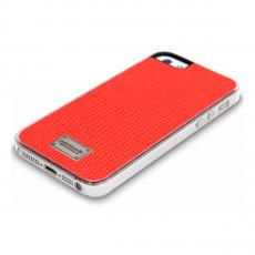 Чехол Patchworks Classique Snap Leather Lizard для iPhone 5, 5S и SE, оранжевый, фото 2