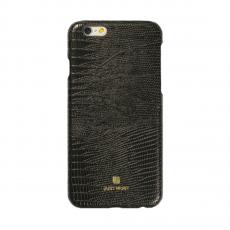 Чехол-накладка Just Must Croco I Collection для iPhone 7/8, поликарбонат, чёрный, фото 1