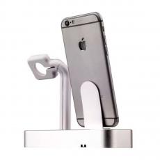 Док-станция COTEetCI Base Dock, для iPhone и Apple Watch, серебристый, фото 3