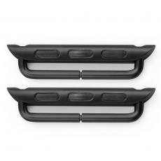 Петли стальные для Apple Watch 42mm, темно-серый, фото 2