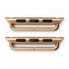 Петли стальные для Apple Watch 42mm, розовое золото, фото 2